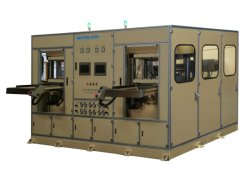 PC ABS PMMA Hoja de PMMA compuesto de material de película auto Interior Ins IMD Iml aire a alta presión termoformadora para el coche de fabricación de paneles