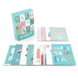 カスタム Hallmark 招待誕生日ケーキカードボックスユニークなプリンスキッズ 息子のかわいい誕生日カード党 Anime