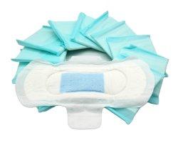Anion卸し売り生物分解性の有機性衛生パッドの女性のMenstrual女性生理用ナプキン