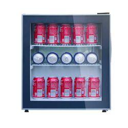 (SC-48) 46 리터 작은 소형 바 음료 냉각기, 유리제 문 냉각장치 소형의, 소형 포도주 및 음료 냉장고