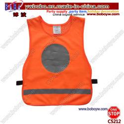 安全衣服のWorkwearのカスタム緑の安全衣服の高い可視性の安全ベスト(C5204)
