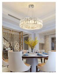 ثريا كريستالية كبيرة عالية الجودة LED بندنت مصباح سقف فاخر أضواء للمعيشة/ الطعام غرفة النوم ضوء السقف 12 فولت