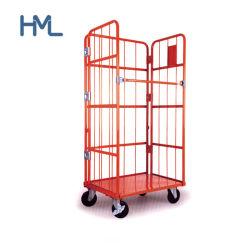 Facili galvanizzati montano il contenitore piegante del rullo del filo di acciaio di trasporto del magazzino