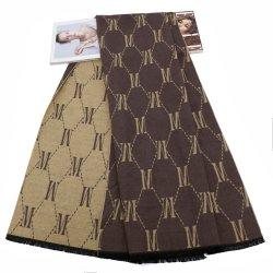 الأزياء عالية الجودة وشاح الشتاء للرجال والنساء تعيين كاش القطن مخصص حسب الطلب مع الشعار