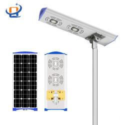 Outdoor Solar LED strada/strada/giardino integrato All in One Remote Motion Lampada IP65