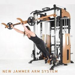 기능적인 반 Trianer 실내 가정 다중 Jemy 스미스 기계 웅크리기 선반 다리 압박 광고 방송 빛 체조 적당 장비
