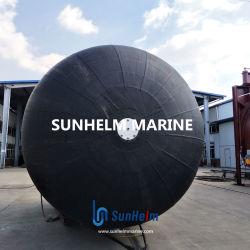 قاعدة الميناء أو ساحة السفن تستخدم مصد هوائي مضلع بحري 3.3X4.5