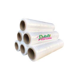 Прозрачный пластмассовый поддон LLDPE растянуть пленку для картонной упаковки