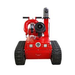 La caméra vidéo patrouille Robot de lutte contre les incendies
