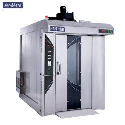 빵집 장비 1개의 트롤리 32 쟁반 상업적인 디젤 엔진 정보 빵 회전하는 굽기 피자 오븐