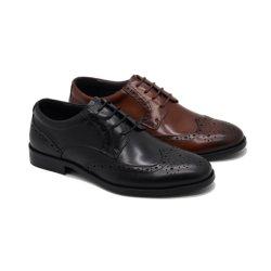 方法人の革服靴のための形式的なオックスフォードの履物の人のドレッシング靴
