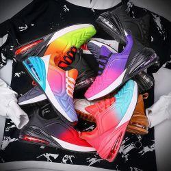 Het aanstoten/het Lopen/het Lopen In te ademen Schoenen van de Tennisschoen van de Mens van de Schoenen van de Sport de Hete Verkopende