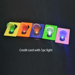 Intermitência Linli dons de negócios a forma de lâmpada LED de bolso portátil luz de cartão de crédito