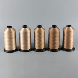 Fournisseur professionnel revêtement PTFE haute température Fil à coudre en fibre de verre pour sac de filtre à coudre