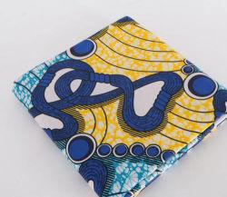 형식 100%년 폴리에스테는 Ghalila/최고 Shadda/6yds 왁스 인쇄를 매 염색했다