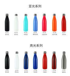 Mira 17 oz à isolation sous vide en acier inoxydable de l'eau Cola à double paroi de la forme de bouteille Thermos bouteille d'eau