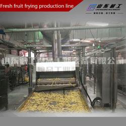 На заводе поставщика чипсы продукты автоматическая машина для жарки