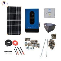 太陽システム価格は家のためのグリッド力システムを離れて太陽 ソーラーパネル 5kw エネルギーシステムを使用します