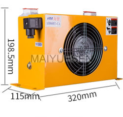 رادياتير الزيت الصناعي A0608t 60L/Min