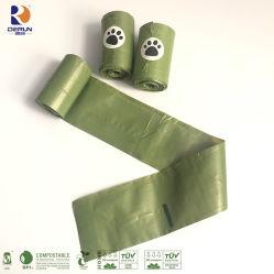 Bolsas de caca de perro mercancías para las mascotas biodegradables las bolsas de abono