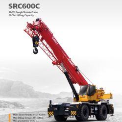 Src600c San. Y Kraan van het Terrein van het Merk de Ruwe het Opheffen van 60 Ton Capaciteit