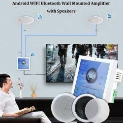 """Bluetooth sans fil WiFi de l'amplificateur de mur avec 5/6"""" dans le plafond le président amplificateurs Home Cinema Android Amplificador audio Mini-lecteur de musique de fond d'AMP de l'hôte"""