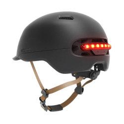 Xiaomi M365 Electric을 위한 스마트 LED 경고 플래시 라이딩 헬멧 스쿠터 및 기타 자전거 자전거 또는 오토바이 액세서리