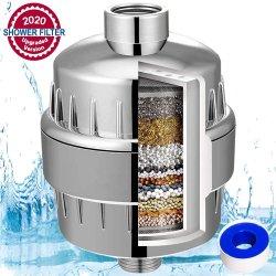Dusche-Filtration-Systems-Kopf-Mineralfilter für hartes Wasser