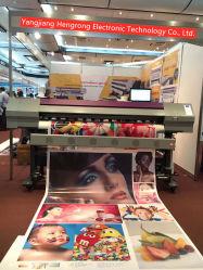 HR-1800c 디지털 에코 용매 와이드 포맷 DX5 스티커 플렉스 배너 프린터