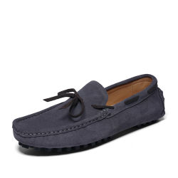 New Design Factory Wholesale Custom Summer Casual Fashion Mocassin-Gommino comfortabel Zachte zool voor lazy person suède schoenen