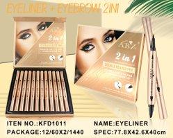 ABZ Wholesale Packing 2 in 1 Eyeliner en wenkbrauw