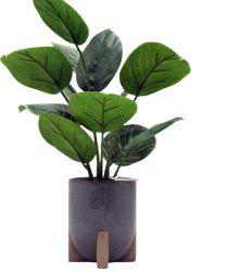 Nuevo diseño de plantas verdes, las macetas con plantas Plantas artificiales Flores