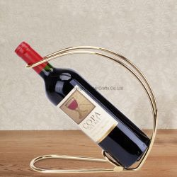 Botella de vino personalizada Metal Estantería Pedestal de almacenamiento del vino