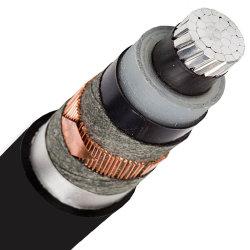 333 كيلو فولت من الكلوريد المتعدد الكلوريد المتعدد الكلوريد (PVC)/XLPE/PE من الكلوريد المصنوع من الكلوريد متعدد الكلوريد (PVC) تحت الوسط كبل طاقة الجهد
