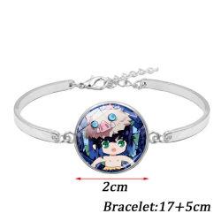 時間の宝石の銀によってめっきされるブレスレットの宝石類のファッション小物
