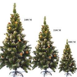 OEM personalizados 60-240cm artificial de árvore de Natal para a casa de decoração crianças Dom Árvore de plástico novo ano delicada decoração de férias