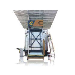 새로운 통합층 치킨 매너로스트 머신 에어로빅 발효 치킨 친환경 유기농 비료