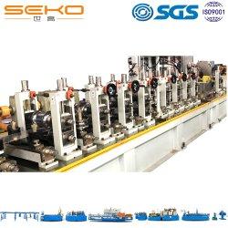 ماكينة تصنيع الأنابيب عالية السرعة التي لحام من الفولاذ لمصانع الأنابيب الصناعية ماكينات الأنابيب الإنتاجية