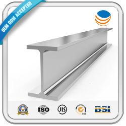 Laminado en caliente 200 300 ASTM A36 Q235 A992 A572 estructural Perfil de carbono/galvanizado Precio canal por Kg I Acero inoxidable H Haz