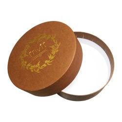 Customized Dom cilíndricos tampa da caixa e a versão da base de luz LED Recipiente da Lâmpada