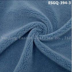 100% poliéster de bucle de corte Faux Fur Esgq Shearling-394-3