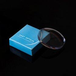 반 완성되는 파랑은 우수한 질을%s 가진 1.591 폴리탄산염 렌즈를 잘랐다