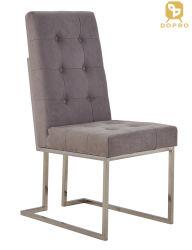 현대 디자인 홈, 다방, 호텔을%s 의자를 식사하는 간단한 작풍 우단 금속 다리