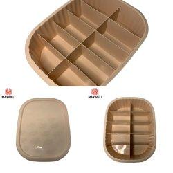 10 مساحات لتبديل الملابس داخل منظم تخزين حمالة الصدر مع الغطاء