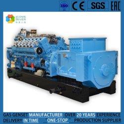 Los gases de escape Industrial Comeriver 200/240/500/600/700kw/Gas biomasa Syngas/gas de horno de coque/productor/Gas Gas refinado e Industrial de grupo electrógeno de gas de escape