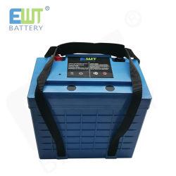 LiFePO4 12V 100ahのエネルギー蓄積システムのための充電電池12.8V 100ah 50Aの連続的な放出流電池のパック