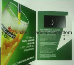 Pantalla LCD de 4 pulgadas Folleto Vídeo