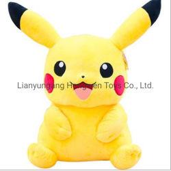 고품질 Anime 고전적인 귀여운 연약한 Pikachu 견면 벨벳 장난감 동물