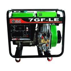 Elevar el portátil arranque eléctrico de potencia 5.5kw Generador Diesel precios