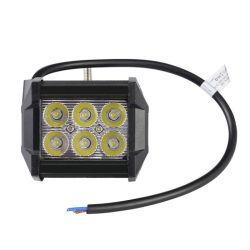 4 بوصة، 18 واط، مصباح عمل LED، قضيب، 72 واط، 90 واط، 108 واط 126واط، ضوء LED لقوادة 180 واط، 12 فولت لشاحنة الطرق الوعرة، ATV سيارة جيب متعددة الاستعمالات